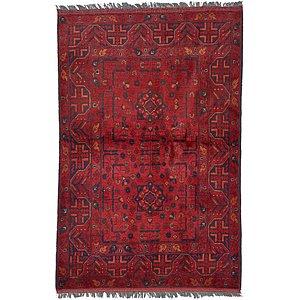 Unique Loom 3' 4 x 5' Khal Mohammadi Oriental...