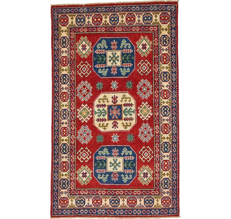 4' x 6' 6 Kazak Oriental Rug