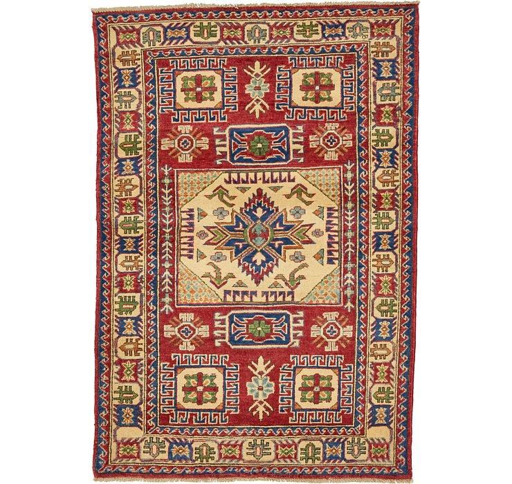 100cm x 145cm Kazak Oriental Rug
