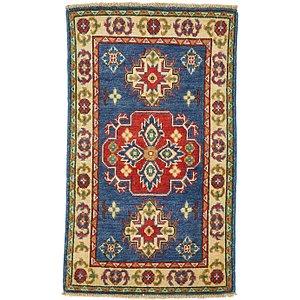 2' x 3' 3 Kazak Oriental Rug
