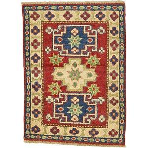 2' x 2' 8 Kazak Oriental Rug