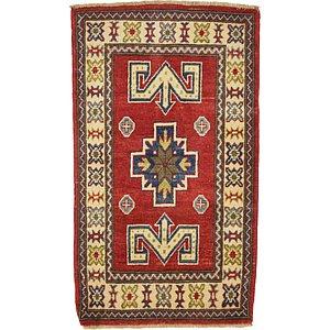 2' x 3' 7 Kazak Oriental Rug