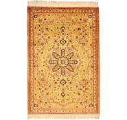 Link to 1' 10 x 2' 7 Qom Persian Rug