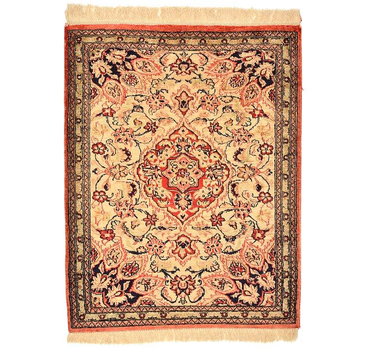 60cm x 80cm Qom Persian Rug