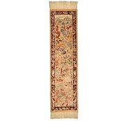 Link to 0' 9 x 2' 10 Qom Persian Runner Rug