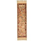 Link to 0' 9 x 2' 10 Qom Persian Runner Rug