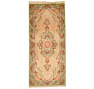 Link to 1' 5 x 3' 2 Qom Persian Runner Rug