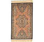 Link to 1' 11 x 3' 3 Qom Persian Rug