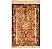 Link to 58cm x 90cm Qom Persian Rug
