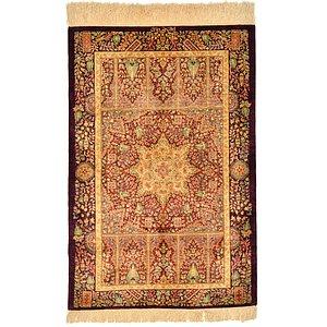 1' 11 x 2' 11 Qom Persian Rug