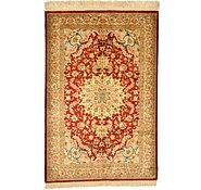 Link to 1' 11 x 2' 11 Qom Persian Rug