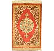 Link to 2' 1 x 3' 1 Qom Persian Rug