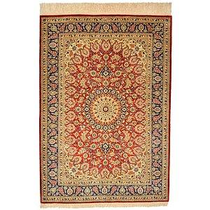 2' 9 x 3' 10 Qom Persian Rug