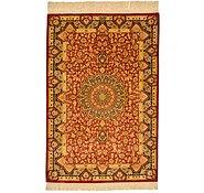 Link to 2' 7 x 3' 11 Qom Persian Rug