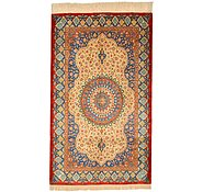 Link to 2' 7 x 4' 3 Qom Persian Rug