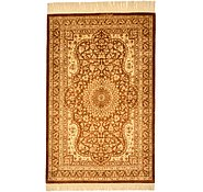 Link to 2' 8 x 3' 11 Qom Persian Rug
