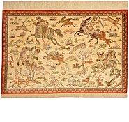 Link to 80cm x 120cm Qom Persian Rug