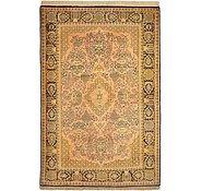 Link to 3' 6 x 5' 3 Qom Persian Rug