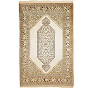Link to 3' 5 x 5' 1 Qom Persian Rug
