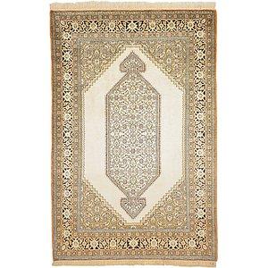 Unique Loom 3' 5 x 5' 1 Qom Persian Rug