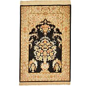 Link to 2' 8 x 3' 11 Qom Persian Rug