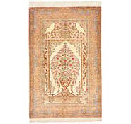 Link to 2' 6 x 3' 11 Qom Persian Rug