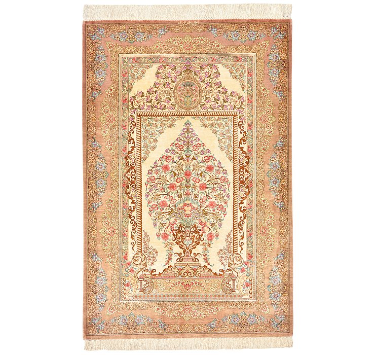 75cm x 120cm Qom Persian Rug