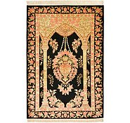 Link to 2' 7 x 3' 10 Qom Persian Rug