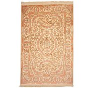 Link to 3' 4 x 5' 1 Qom Persian Rug
