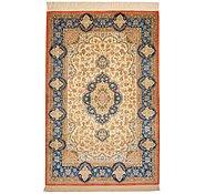 Link to 3' 3 x 4' 10 Qom Persian Rug