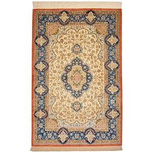 3' 3 x 4' 10 Qom Persian Rug