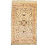 Link to 102cm x 150cm Qom Persian Rug