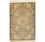 Link to 2' 7 x 3' 11 Qom Persian Rug