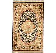 Link to 3' 3 x 5' Qom Persian Rug