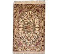 Link to 3' 3 x 4' 11 Qom Persian Rug