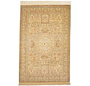 Link to 3' 4 x 4' 11 Qom Persian Rug