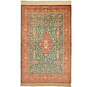 Link to 3' 4 x 5' 2 Qom Persian Rug