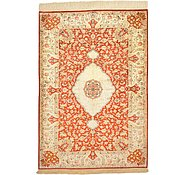 Link to 3' 5 x 4' 11 Qom Persian Rug