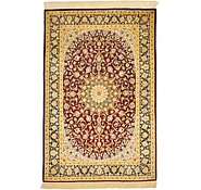 Link to 3' 4 x 5' Qom Persian Rug