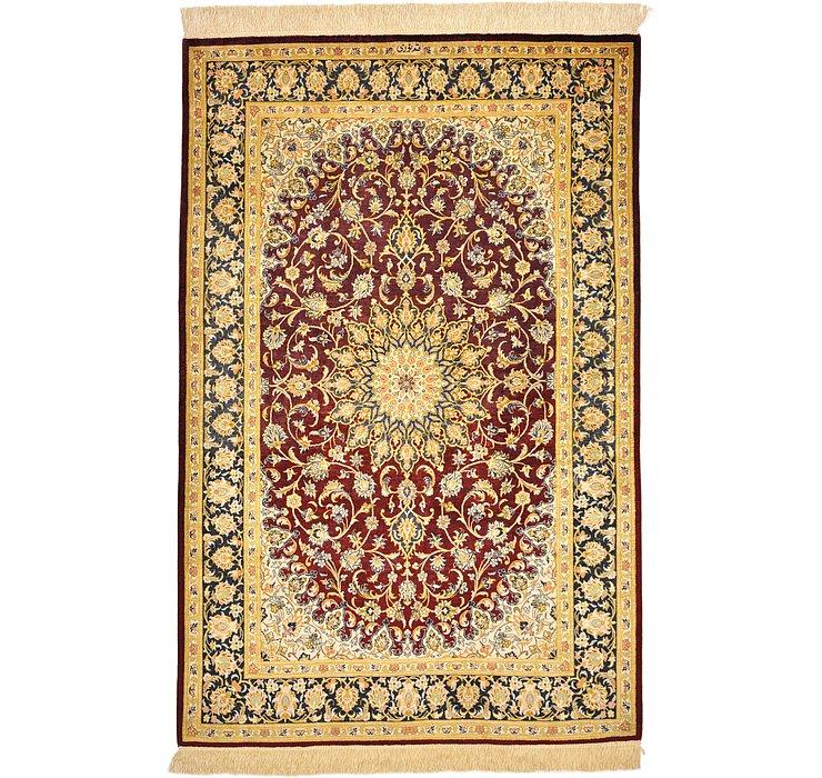 3' 4 x 5' Qom Persian Rug
