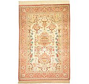 Link to 3' 3 x 4' 9 Qom Persian Rug