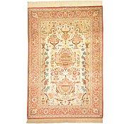Link to 100cm x 145cm Qom Persian Rug