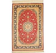 Link to 3' 4 x 4' 11 Qom Persian Rug