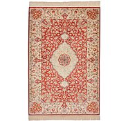 Link to 3' 4 x 5' Qom Persian Rug