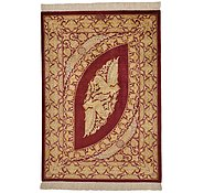 Link to 2' 7 x 3' 8 Qom Persian Rug