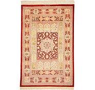 Link to 3' 2 x 4' 10 Qom Persian Rug