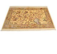 Link to 3' 3 x 5' Qom Persian Rug