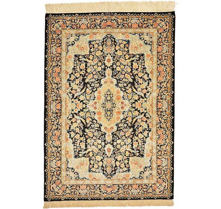2' 6 x 3' 11 Qom Persian Rug