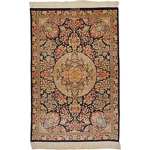 Unique Loom 2' 7 x 3' 10 Qom Persian Rug