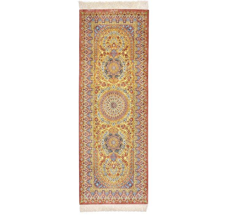2' 2 x 6' 2 Qom Persian Runner Rug
